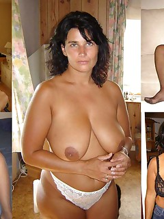 Before and After compilations of amateur wives