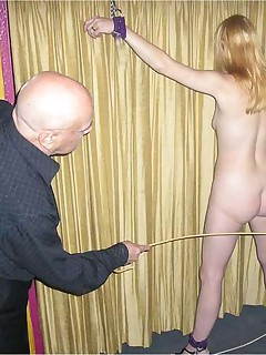 Bound and immobilised for her masters pleasure
