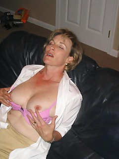 Check out these sexy mature sluts They love to show off what they have left