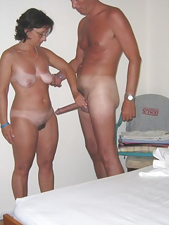 Check out these old moms getting their holes plowed Who would have thunk at their age they love the cock so much