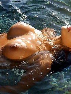 This exotic Asian babe is Debra Ling She is an unbelievable example of the female form Stunning in every way watch as she gets naked and wet in the pool