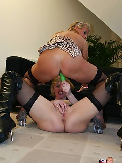 Two filthy London lesbians toying eachother till they cum