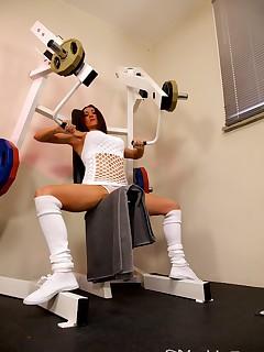 Hanjob training in my gym