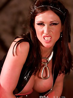 Miss Hybrid gets her revenge in the dungeon