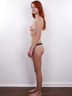 Kamila is a rare find Not only is she a luscious little redhead but shes also smart shiny and likeable all the way Her body is elegant and streamlined her pussy is perfect and her face is so cute it made our staff pause just to make sure all the