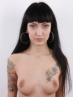 My friends today you will love us This video is just amazing and I am not exaggerating a bit Kristyna is a drop dead beauty from Slovakia her body is just wonderful and covered in tattoos She is experienced in the erotic business and she just needs more jobs She