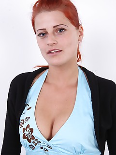 Well this was a surprise Do you remember this redhead Of course you do shes Zuzana the one in the lead role of the most perverse episode of the most famous czech gangbang ever Back then she was right after giving birth with swollen tits and really horny This redheaded