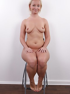 This blonde does not really look like somebody who youd expect in porn right Its more likely to imagine her behind a counter in a bank isnt it Well thats what Neli does in her normal life But as hobby she decided to start career in erotica What an interesting