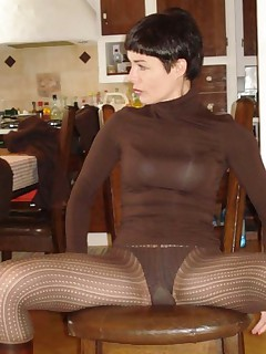 Nice selection of an amateur wife posing for her hubby
