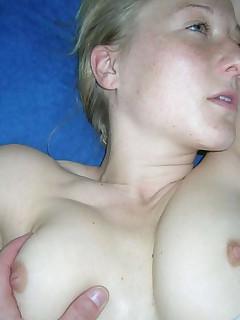 Horny MILF gets kinky with her husband