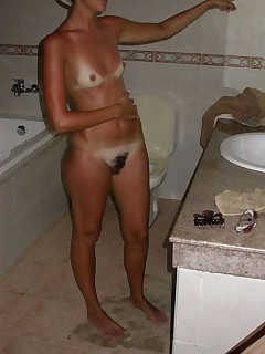 Set of various dirty and hot housewives cunts and tits