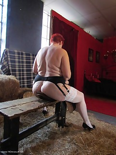 One of my fans popped along to shoot some pics of me in a studiohe had a very horny time