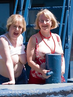 Hi Guys Heres a Set of Me  Chloe on the Houseboat in Gloucester we were feeling really naughty so started messing about and flashing on the boat but things soon started to HotUp as we went up on the Top Deck to Play and got down to some serious Girl on Girl ActionSpeedybee   xxx