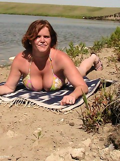 I took my lover to this little beach Id discovered not too far from my home It was soooo hot out that I had to take my swimsuit off besides how is a girl supposed to get her holes filled with cock if her bottoms are on