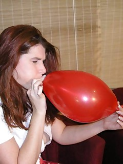 Here you can see one of my fetish sets Many of my friends and members like to see me with Balloons I know that you will like ityou can see many Hot randy action in the set Cum in Kisses Your Angel Eyes