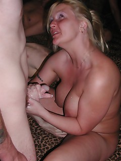 The second part of my Manchester gangbang with fuck queen Angie Riley The guys love covering me with their hot and sticky man juice and of course I swallow every last drop