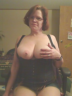 I really love this denim corset because it gives me great cleavage On this particular day I was feeling very horny indeed and thought I needed to create some cleavage in my ass  It took a very intimidating dildo stuffed in my ass to give me the desired effects