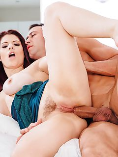 Sexy Brunette Lucia Love Has Anal Sex With a Married Man