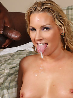 Hot MILF Flower Tucci interracial anal threesome
