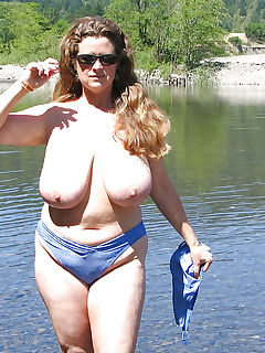 Sexy Mom at the Lake