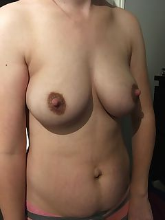 Stretch marks milky tits and chewed up nipples My wife is a real mom
