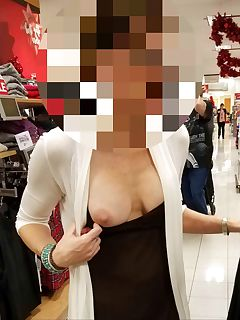 Quick flash while shopping with the wife