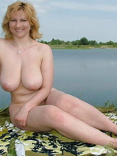 Tits by the lake