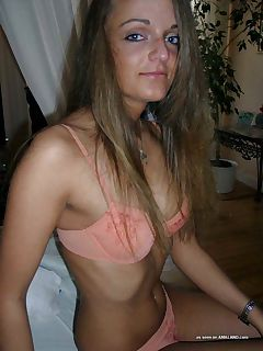 Amateur wife in her sexy lingerie
