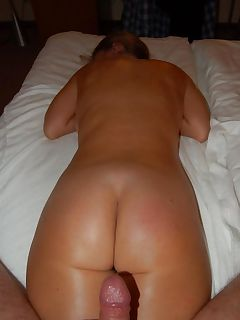 Mature wife having fun with herself and hubby