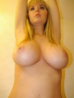 beautiful busty blonde
