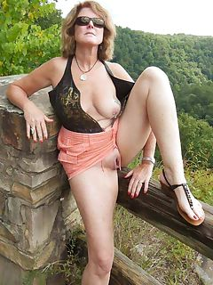 mom outdoor pics