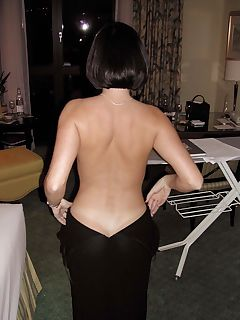 that back and the tan mark from her thong damn