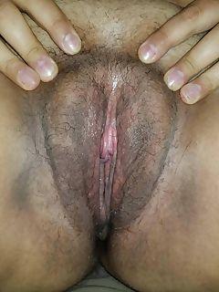 Wifes swollen clit