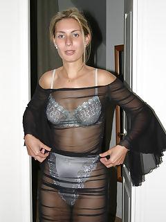 you like my new lingerie honey