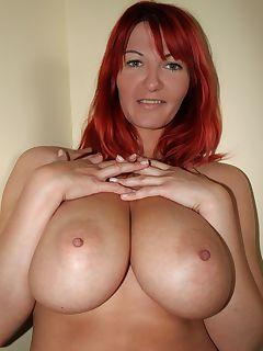 voluptuous redhead