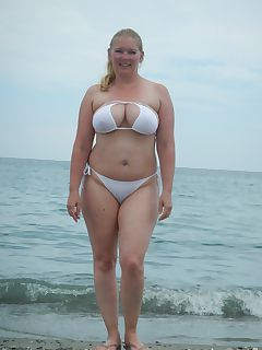 white bikinis are only for the brave
