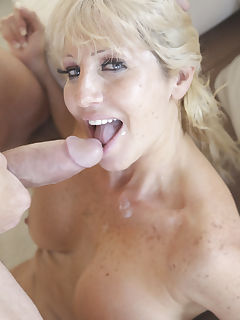 Hardcore Latin MILF Tara Holiday is in for the attack this morning and our cock is ready Luckily she was soaked already from playing with her pussy that our pole went right in with balls slapping on her Tara loved every round inch of cock and every ounce of cum across her chest