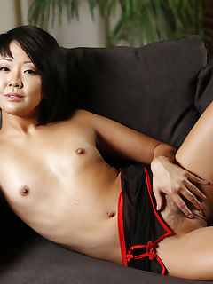 Petite Asian Saya Song Stretches Her Pussy Around Huge Cock