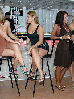 12 pics of 6 hot milf lesbians eating each other and playing with dildos