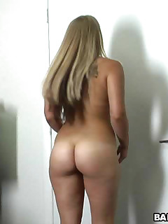 This girl is one of those next door type chicks Nice shaved pussy and all natural We gave her a full facial as a welcome to the biz