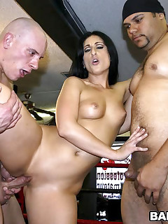 Who are these knock outs you may ask Luscious Lopez Lexi Belle and Natalie Norton these three devilish hotties are out and about