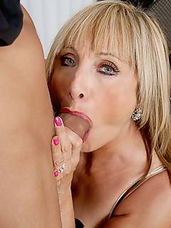Mature latina loves young cock
