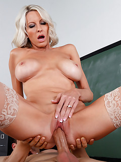 Emma Starr sucks her students dick before they fuck